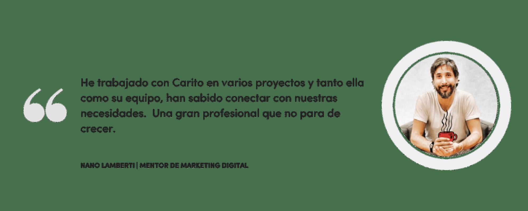 , Trabajemos Juntos, Soy Carito Ruiz