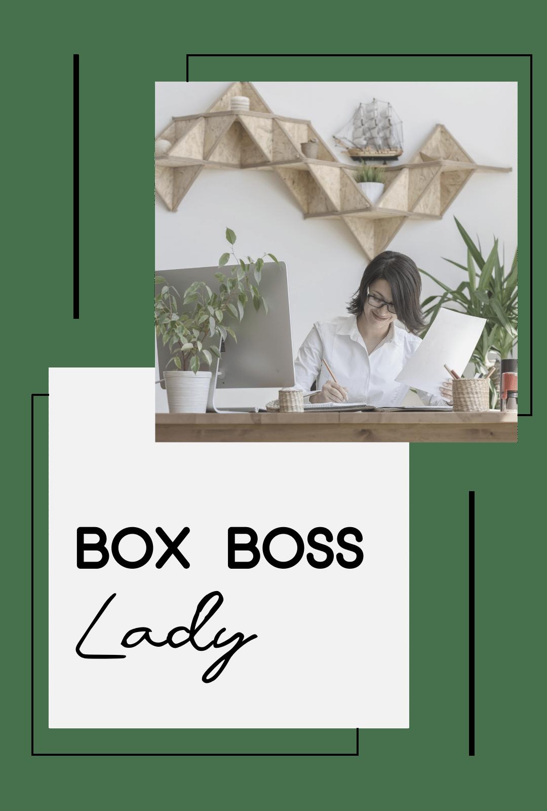 , Box Boss Lady, Soy Carito Ruiz